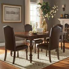 brown wood bohemian dining room sets kitchen dining room