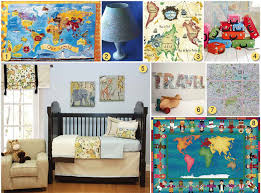 Kids Room Decoration Using Maps As Kid U0027s Room Decor