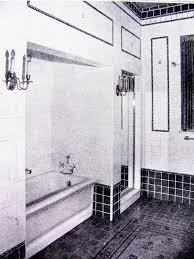 studio garden u0026 bungalow 1920s vintage bathroom styles