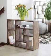 wall shelves pepperfry book shelves modern wooden glass wall hanging folding corner