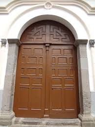 Carved Exterior Doors File Iglesia De San Marcos Quito Carved Exterior Door Pic