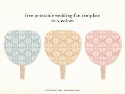 Diy Wedding Fans Templates Image Posts By Snips And Snails