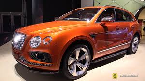 orange bentley interior 2016 bentley bentayga exterior and interior walkaround 2015
