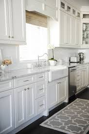 Kitchen Ideas With White Cabinets Kitchen Countertop Ideas With Window And White Cabinets
