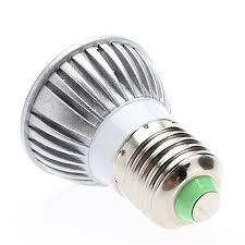 led par16 e27 base 3w led bulb down light dimmable spot lamp 12v