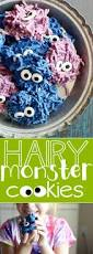 hairy monster cookies something swanky