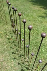 metal flower garden stakes 13 best rustic garden stakes images on pinterest garden stakes