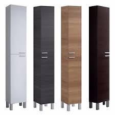 Bathroom Storage Cupboard Baltic Bathroom Storage Cabinet Cupboard Grey White Oak