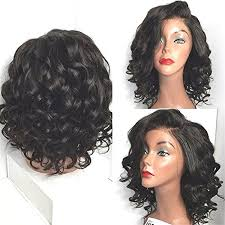 bob haircuts black hair wet and wavy wigshow wet and wavy lace front wigs for black women shor https