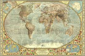 Wall Maps Of The World by The World Decorative By Jaysimons On Deviantart