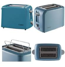 Kenwood Kmix Toaster Blue Bosch Village Collection 2 Slice Toaster U2013 Blue Tat3a021gb