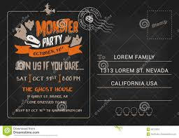 halloween monsters background postcard halloween invitations u2013 halloween wizard