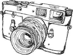 rangefinder style camera drawing