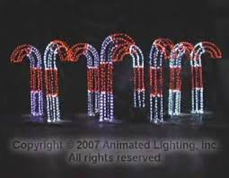 Candy Cane Lights Animated Lighting Products Just Add Power Animated Candy Canes