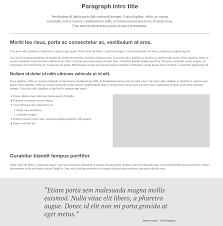 Metus Vitae Pharetra Auctor by A Static Content Layout Lifesaver Paragraphs Module Druid