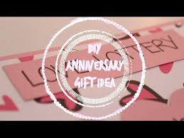 1 year anniversary ideas for him diy 1 year anniversary gift idea stfusandi