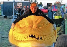 halloween wars u0027 sculptor turns his sights on pumpkins la times