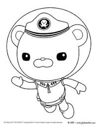 coloring pages octonauts drawing kids play games