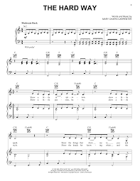 mary chapin carpenter thanksgiving song mary chapin carpenter the hard way sheet music