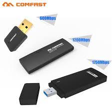 Usb Wifi Adapter For Faster Wifi Usb Wifi Wireless Usb Wifi Adapter Dual Band 2 4g 5ghz Wifi Usb 600 1200 1750