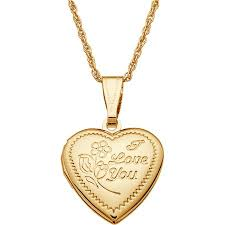 personalized gold jewelry personalized gold tone engraved kids oval i you heart