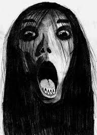 the grudge fan art horror theme pinterest horror themes and