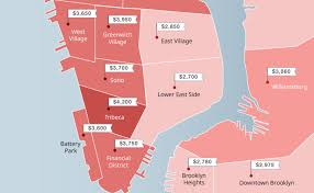 manhattan prices mapped this spring 2017 the zumper blog