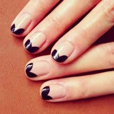 two tone nail art designs