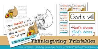 thanksgiving bible printables