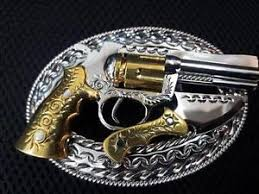 Handmade Belts And Buckles - new 100 handmade belt buckle stainless steel western style gun