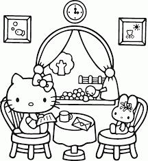 kitty coloring sheet hello free sheet at free hello kitty