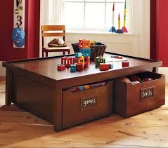 kids play table with storage design with kids in mind best toy storage ideas