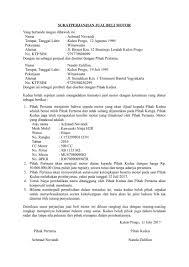 format surat kuasa jual beli rumah download contoh surat jual beli motor dengan kondisi bekas
