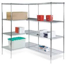 Metal Shelving Unit Storage U0026 Organization Cheap Corner Wire Shelving Unit