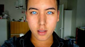 light blue cosplay contacts review beautiful blue green aqua contacts on brown eyes youtube
