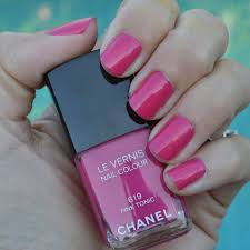 chanel pink tonic nail polish review for summer 2014 bay area