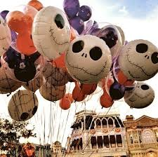 skellington disney balloons nightmare before