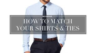 how to match your shirts and ties u2013 divinzo