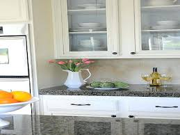 glass knobs on white kitchen cabinets frosted glass kitchen