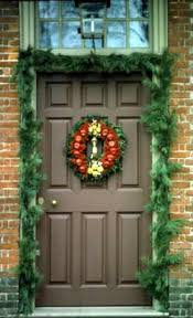 Christmas Decoration For A Door by Deck The Doors The Colonial Williamsburg Official History