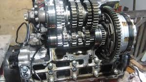 suzuki gsxr 600 reparação caixa gearbox repair youtube