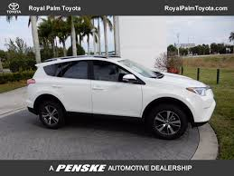 toyota rav4 2018 new toyota rav4 xle fwd at royal palm toyota serving