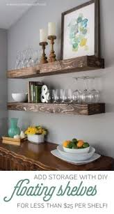 How To Decorate Floating Shelves Diy Floating Shelves And Bathroom Update Shelves Room And House