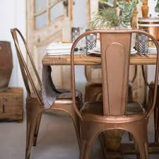 Galvanized Bistro Chair Dining Room Where To Buy Metal Chairs Discount Dining Room