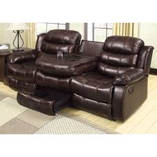 home theater loveseat recliners furniture of america cm6551s btd berkshire reclining sofa with