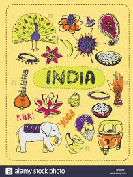 doodle doo india doodle about india stock vector illustration vector image