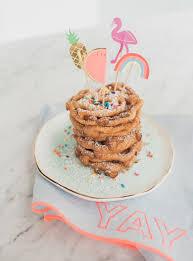 homemade mini funnel cakes oh joy