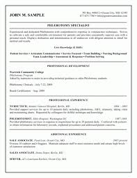 sle resume for phlebotomy with no experience phlebotomy resume sle no experience phlebotomy resume picture
