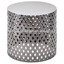 Drum Accent Table Aluminium Drum Table Aluminium Drum Table Suppliers And