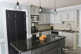 Chalk Paint On Kitchen Cabinets by Remodelaholic Diy Refinished And Painted Cabinet Reviews